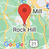 Map of Rock Hill SC US