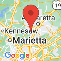 Map of Roswell GA US