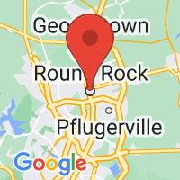 Map of Round Rock TX US