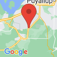 Map of Roy, WA US