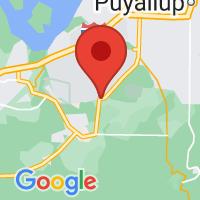 Map of Roy, WA