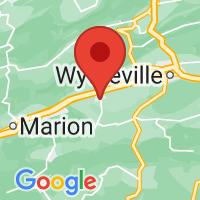 Map of Rural Retreat, VA