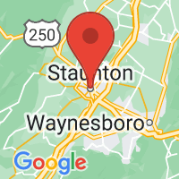 Map of STAUNTON VA US