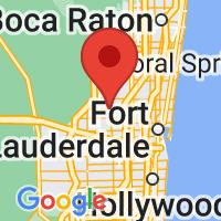 Map of SUNRISE FL US