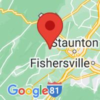 Map of SWOOPE VA US
