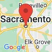 Map of Sacramento, CA