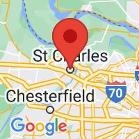 Map of Saint Charles MO US