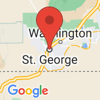 Map of Saint George, UT