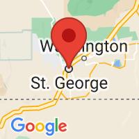 Map of Saint George, UT
