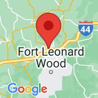 Map of Saint Robert, MO US