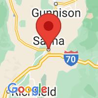 Map of Salina, UT