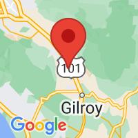 Map of San Martin, CA US