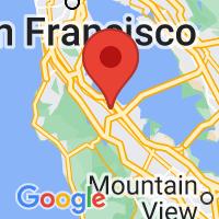 Map of San Mateo, CA US