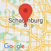 Map of Schaumburg IL US