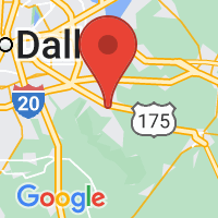 Map of Seagoville, TX