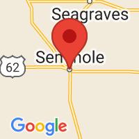 Map of Seminole, TX US