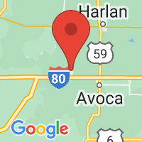 Map of Shelby IA US