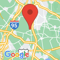 Map of South Easton MA US