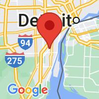 Map of Southgate, MA US
