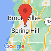 Map of Spring Hill FL US