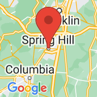 Map of Spring hill TN US