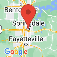 Map of Springdale, AR US