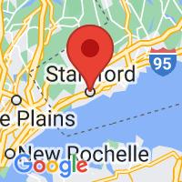 Map of Stamford CT US