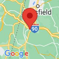 Map of Stockbridge MA US