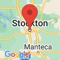 Map of Stockton CA US