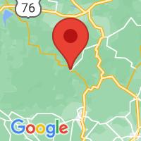 Map of Suches, GA