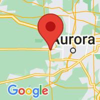 Map of Sugar Grove, IL
