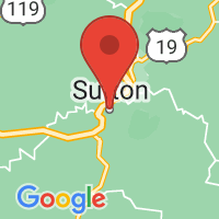 Map of Sutton, WV