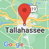 Map of Tallahassee, FL