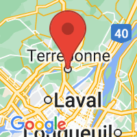 Map of Terrebonne, QC CA