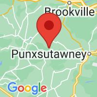 Map of Timblin, PA