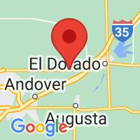 Map of Towanda, KS