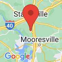 Map of Troutman, NC US