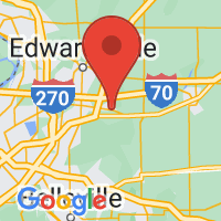 Map of Troy IL US
