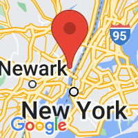 Map of Union City, NJ