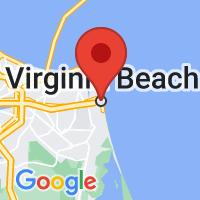 Map of VIRGINIA BEACH VA US