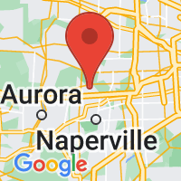 Map of WARRENVILLE IL US