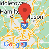 Map of WEST CHESTER OH US
