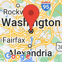 Map of Washington, DC US