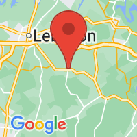 Map of Watertown, TN US