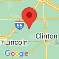 Map of Waynesville IL US