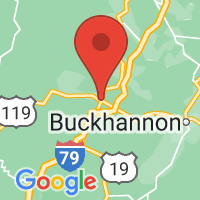 Map of Weston, WV US