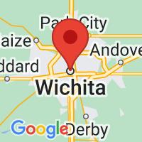 Map of Wichita KS US