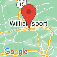 Map of Williamsport, PA