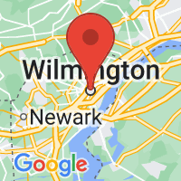 Map of Wilmington DE US