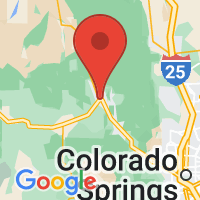 Map of Woodland Park CO US